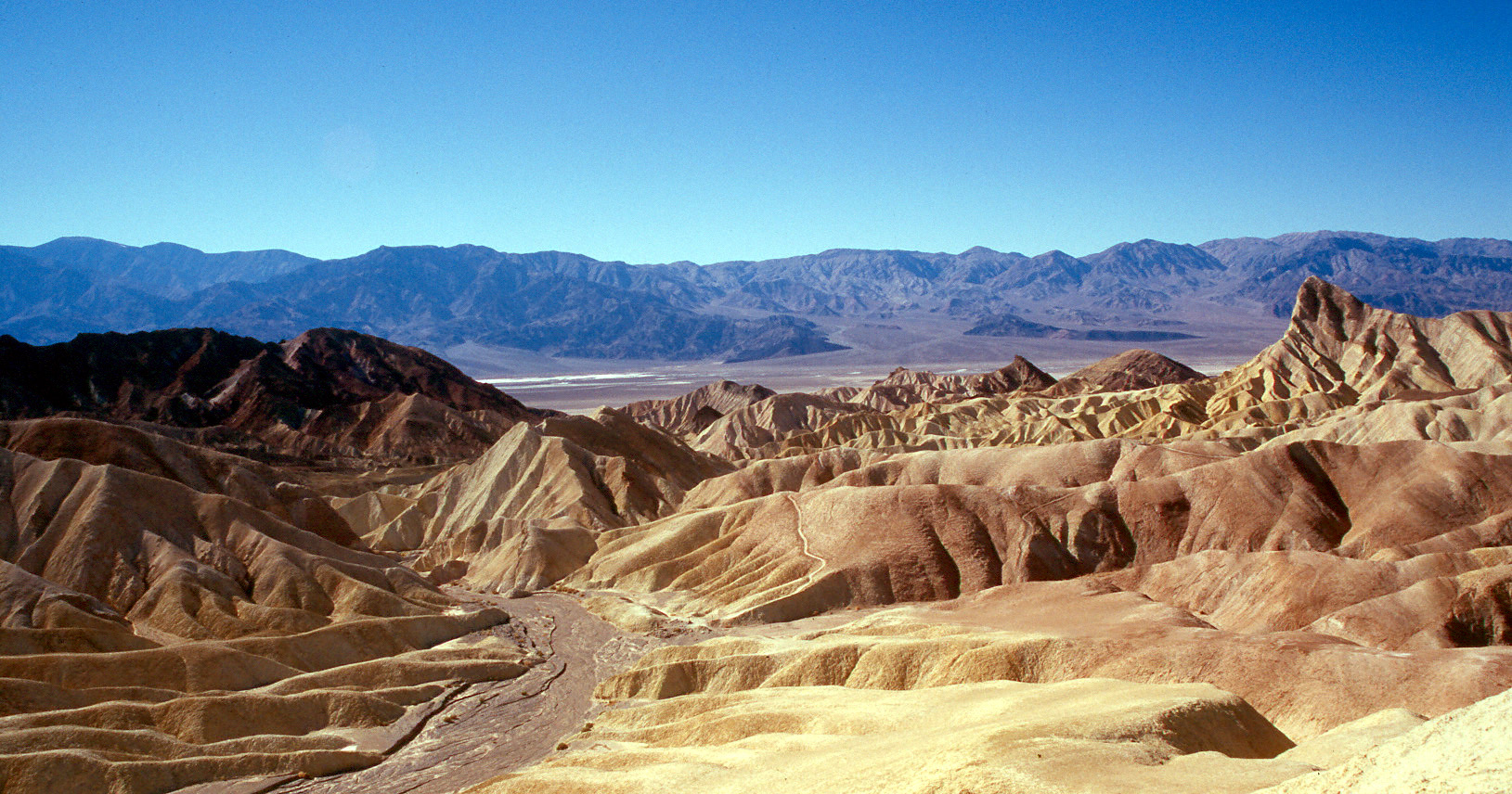 death valley's furnace creek holds the record for the
